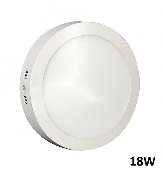 Downlight LED 18W Superficie 6000k