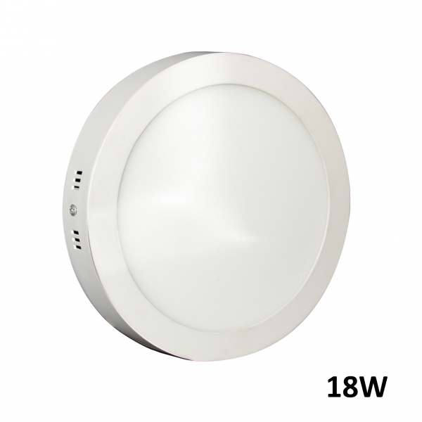 Downlight LED 18W Superficie 6000k