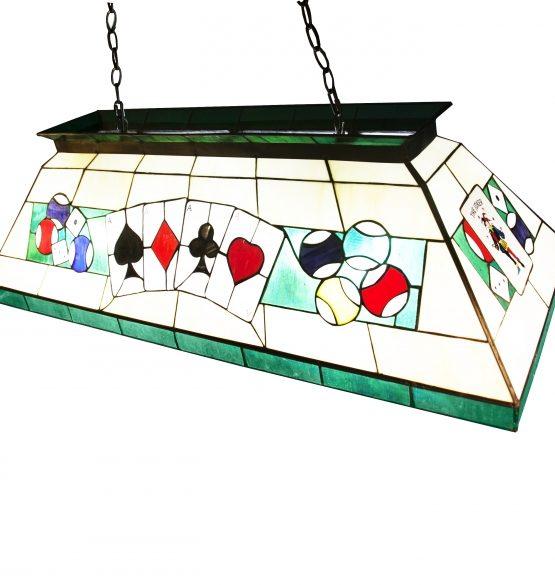 Lámpara de  billar tiffany