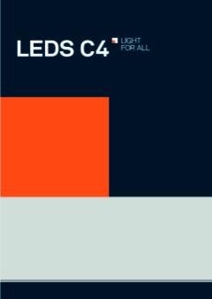 imagen catalogo Leds c4 2018